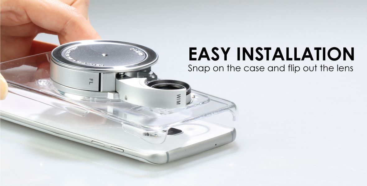 Camera Lens Kit for Samsung Galaxy S7 EDGE - CLEAR