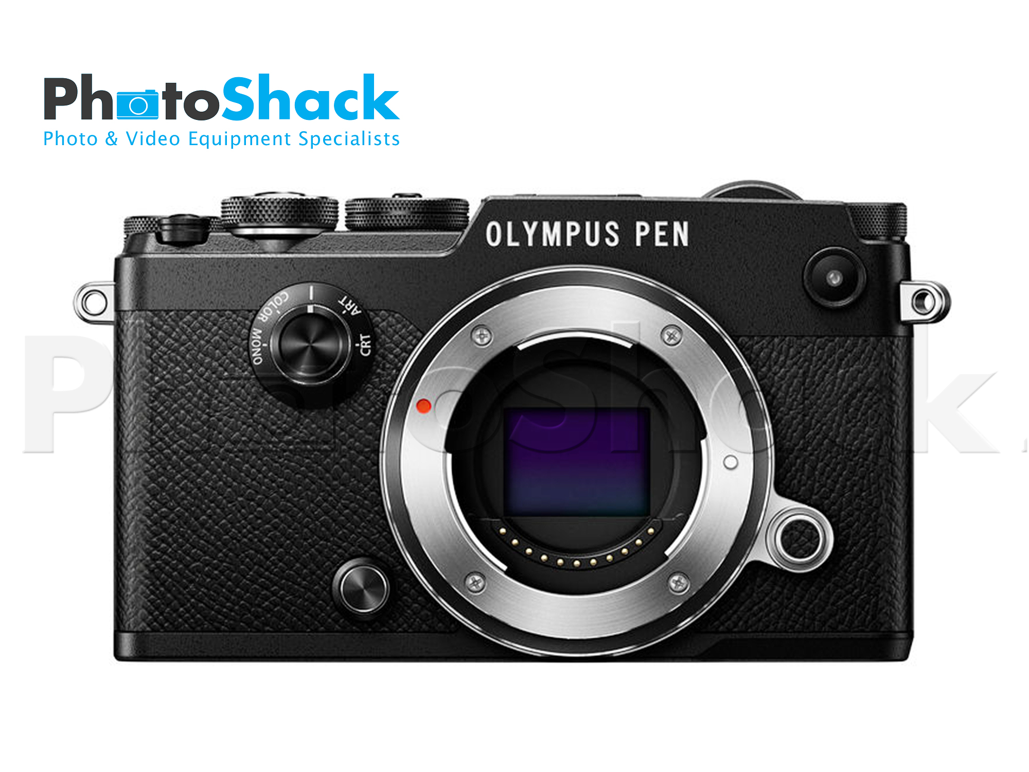 Olympus PEN-F Mirrorless Micro Four Thirds Digital Camera - Body Only