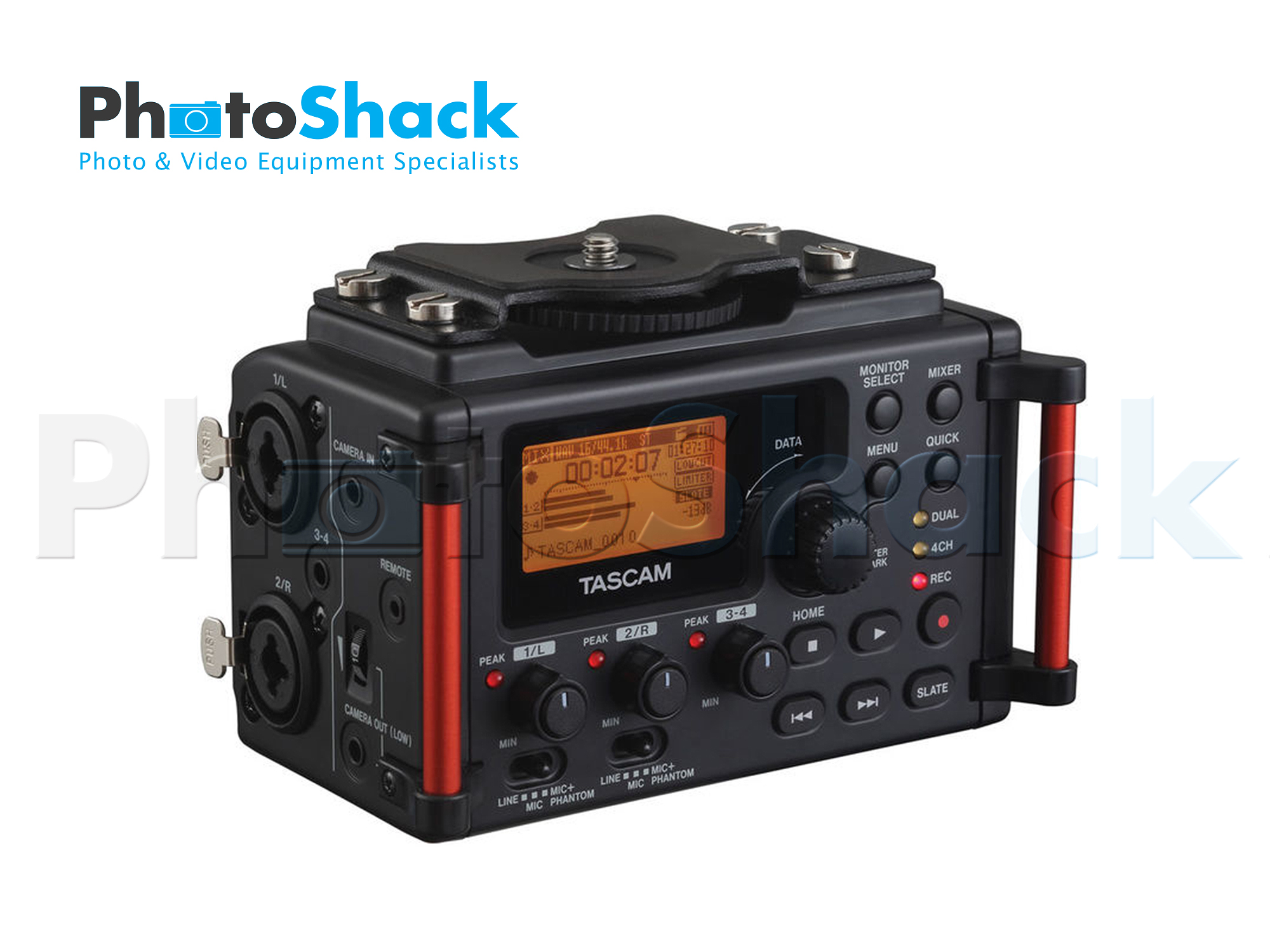Tascam DR-60D MKII 4-Channel Portable Recorder