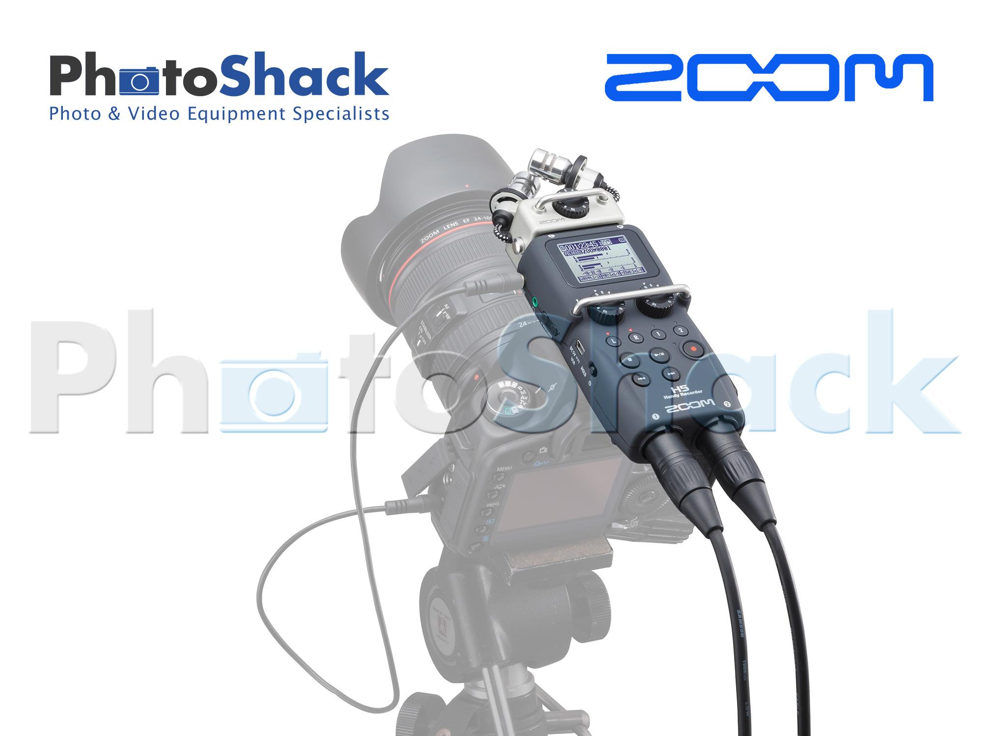 Zoom H5 Handy Recorder ZOOMH5 | Photoshack | New Zealand