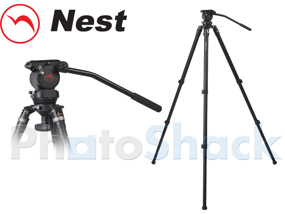 Nest Globe Head 36mm Video Tripod Kit with NT-760H head
