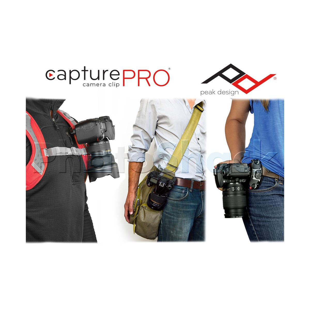 Peak Design CapturePRO Camera Clip with Universal PROplate