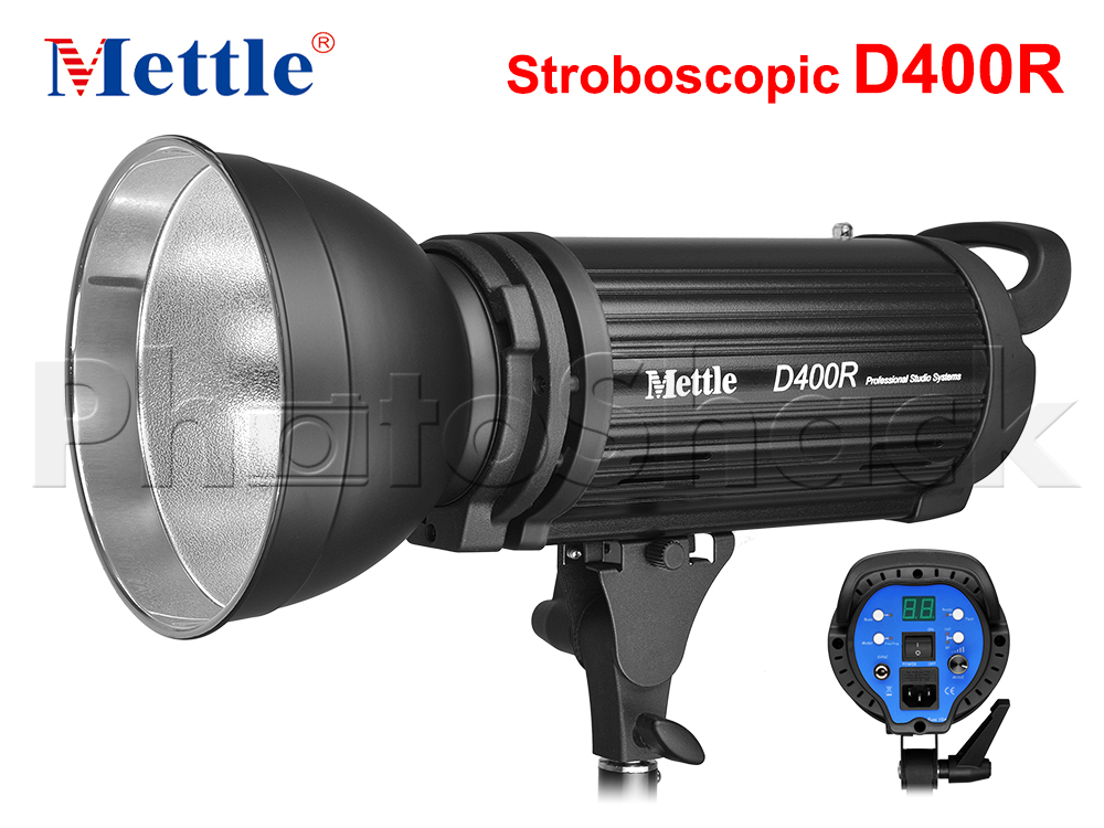 Studio Flash - 400W - Stroboscopic - Mettle D400R