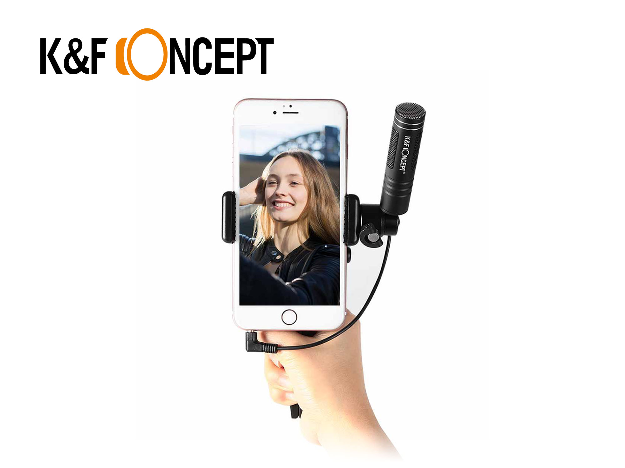 Smartphone Microphone and Tripod Kit - K&F Concept