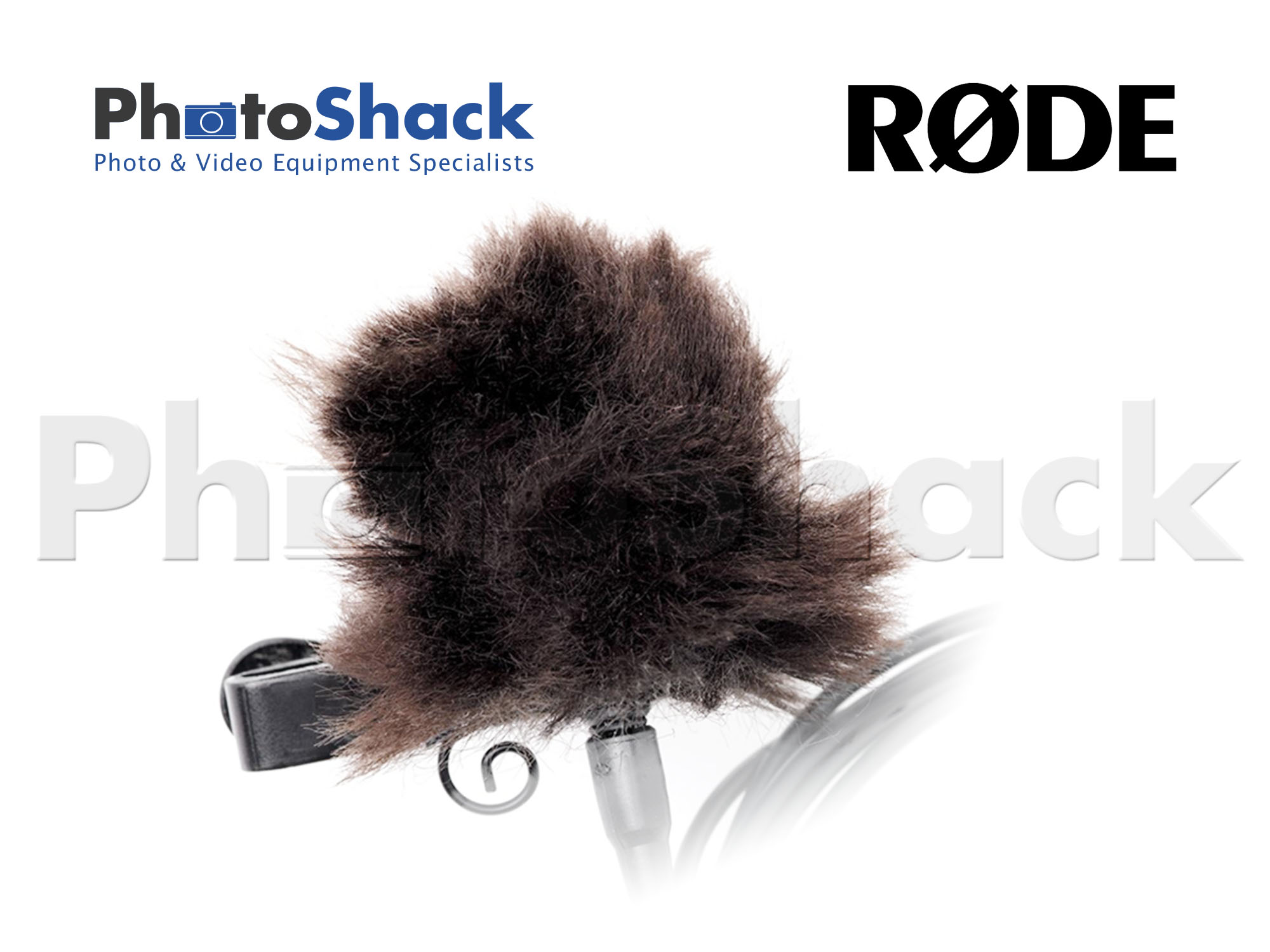 Rode MINIFUR-LAV 3-Pack Synthetic Fur Windshield for Lavalier Microphones