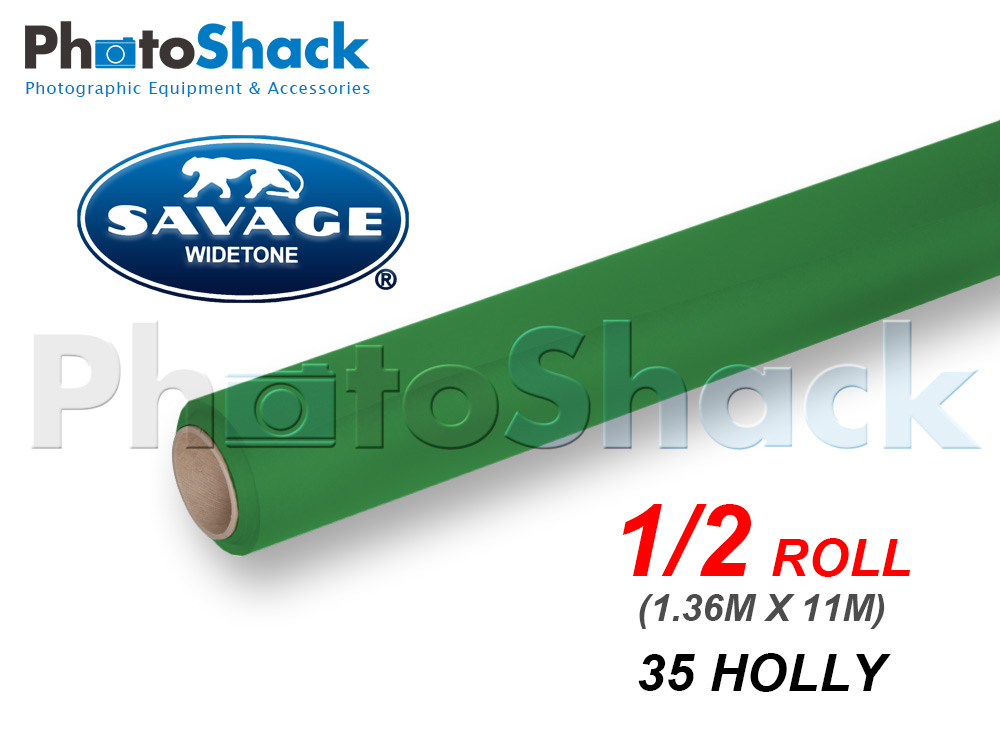 SAVAGE Paper Backdrop Half Roll - 35 Holly