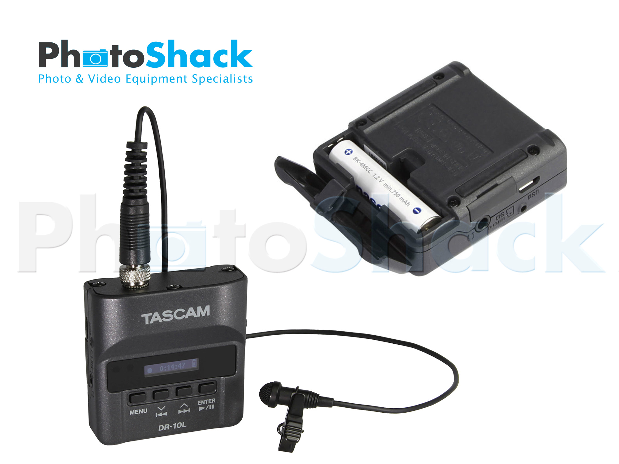 Tascam DR-10L  Digital Recorder