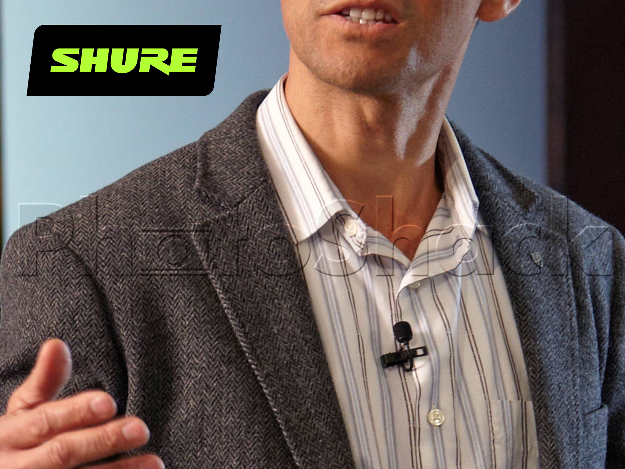 Shure MX150-Q-TQG Omnidirectional Subminiature Lavalier Microphone