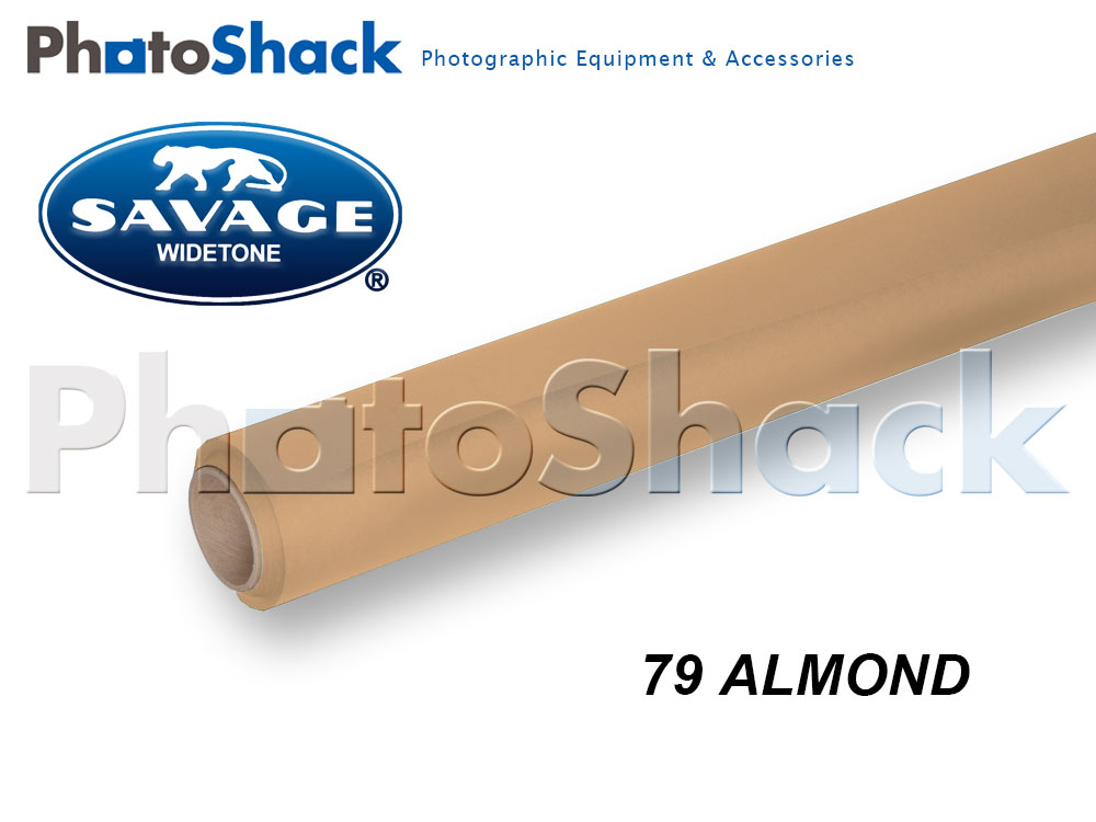 SAVAGE Paper Background Roll - 79 Almond