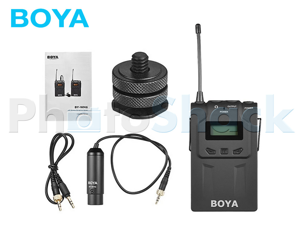 Boya BY-WM6R Professional UHF Wireless Microphone Receiver