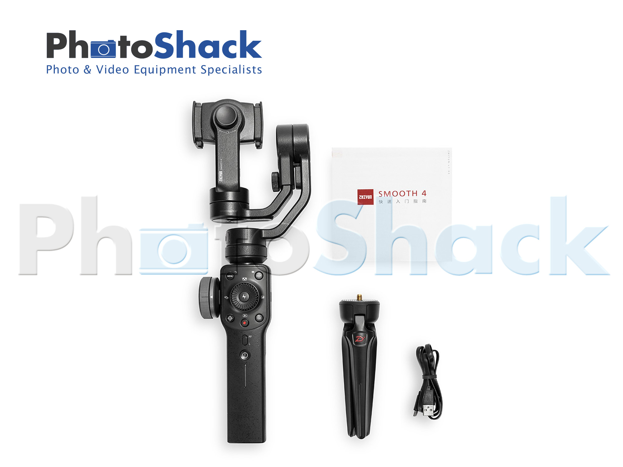 Zhiyun Smooth 4 Smartphone Gimbal - Black