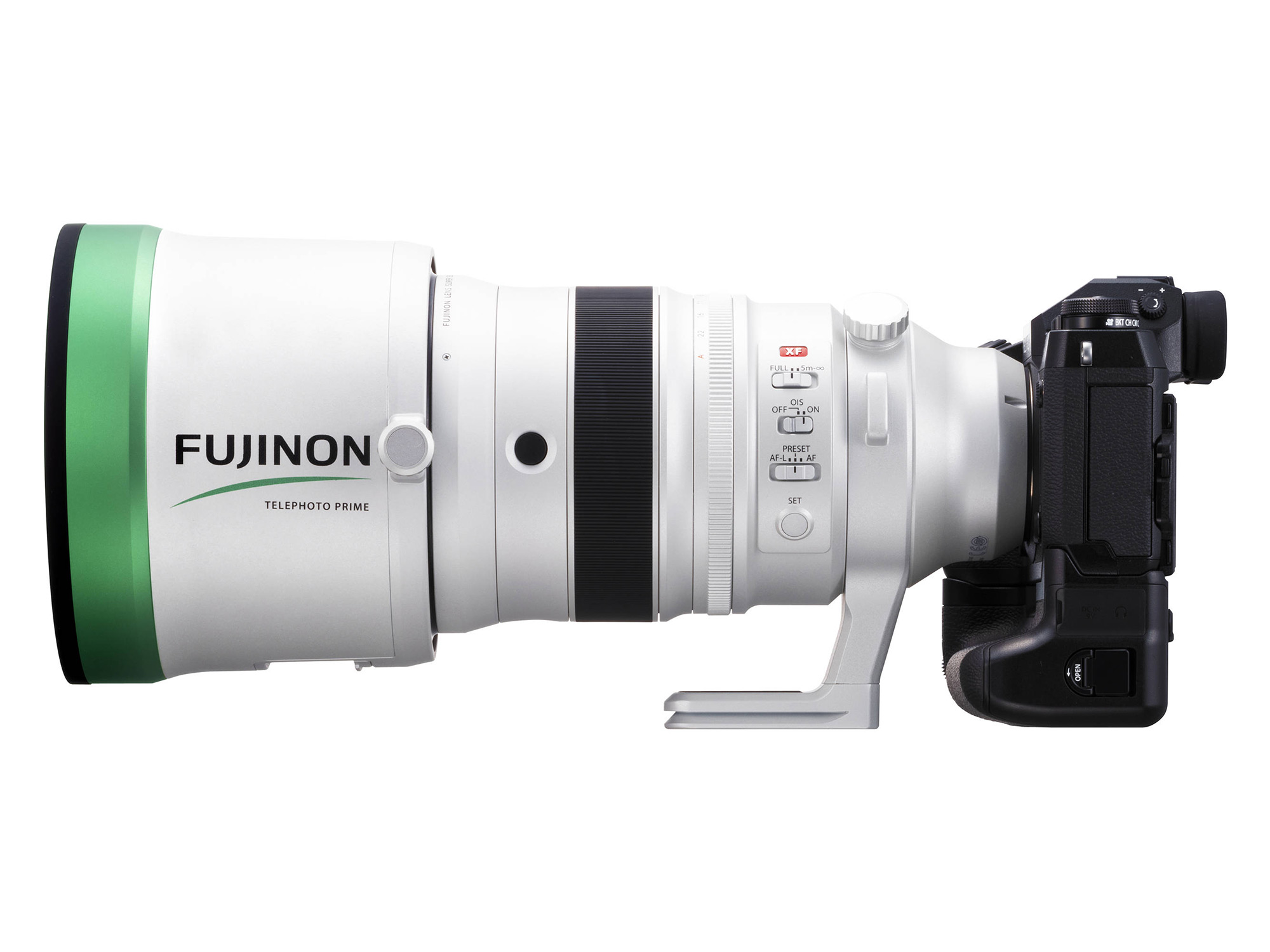 Fujifilm XF 200mm f/2 OIS WR Lens with XF 1.4x TC F2 WR Teleconverter Kit