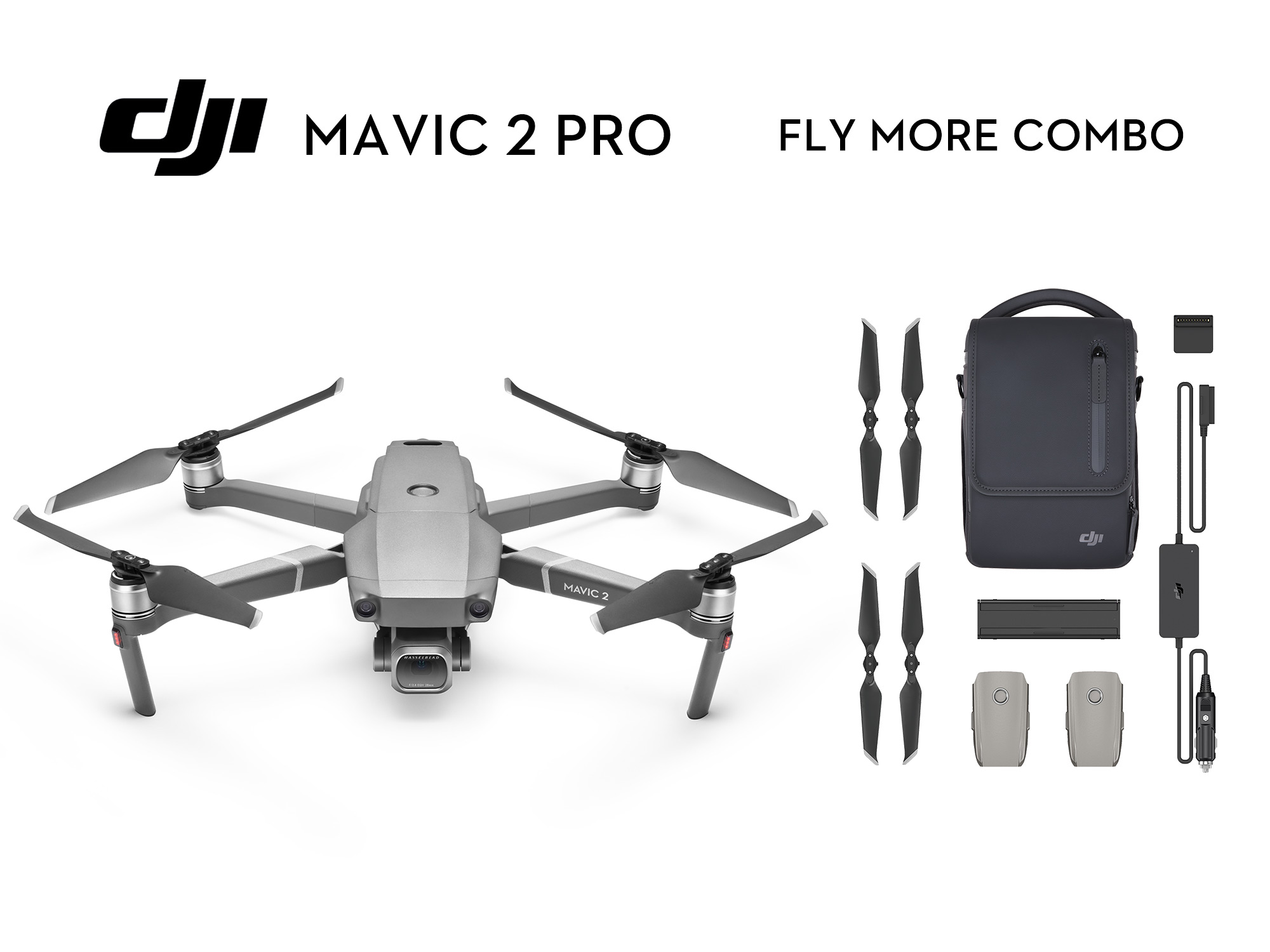 DJI Mavic 2 Pro - Fly More Combo DJIMavic2ProFlyMore | Photoshack
