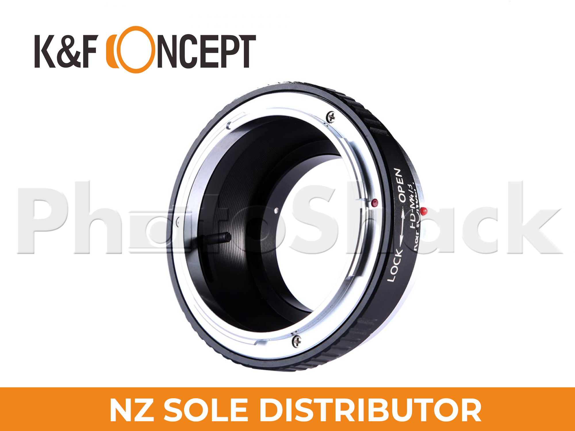 K&F Concepts Canon FD Lenses to M43 MFT Mount Camera Adapter