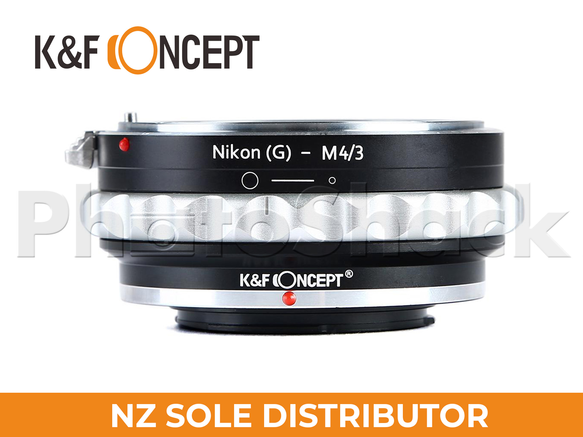 K&F Concept Nikon G/F/AI/AIS/D Lenses to M43 MFT Mount Camera Adapter