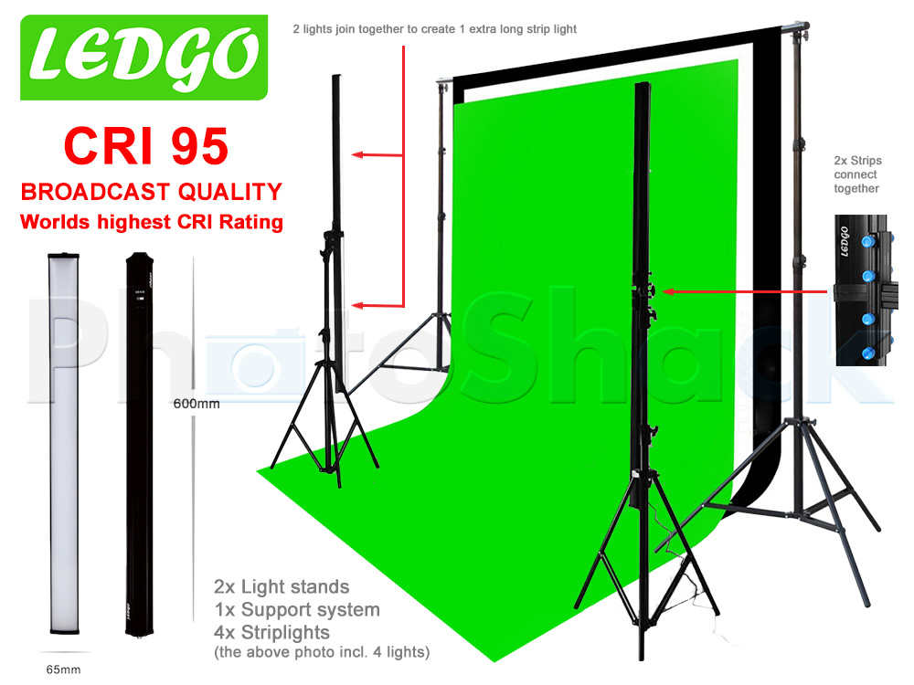 LEDGo Modular Strip Light LG-E60 x 4 Kit