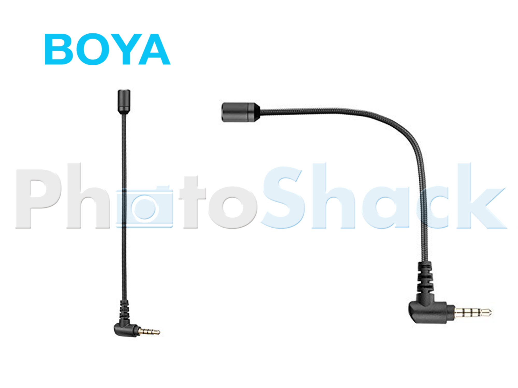 BOYA Omnidirectional Condenser Microphone 3.5mm TRRS Connector