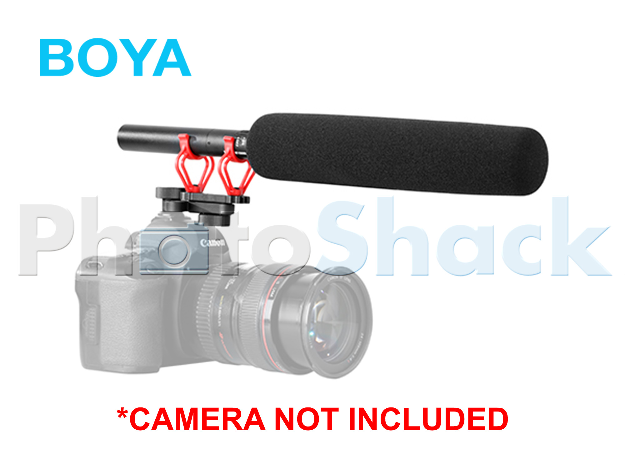 Boya BY-C30 Suspension Shockmount for Shotgun Microphones
