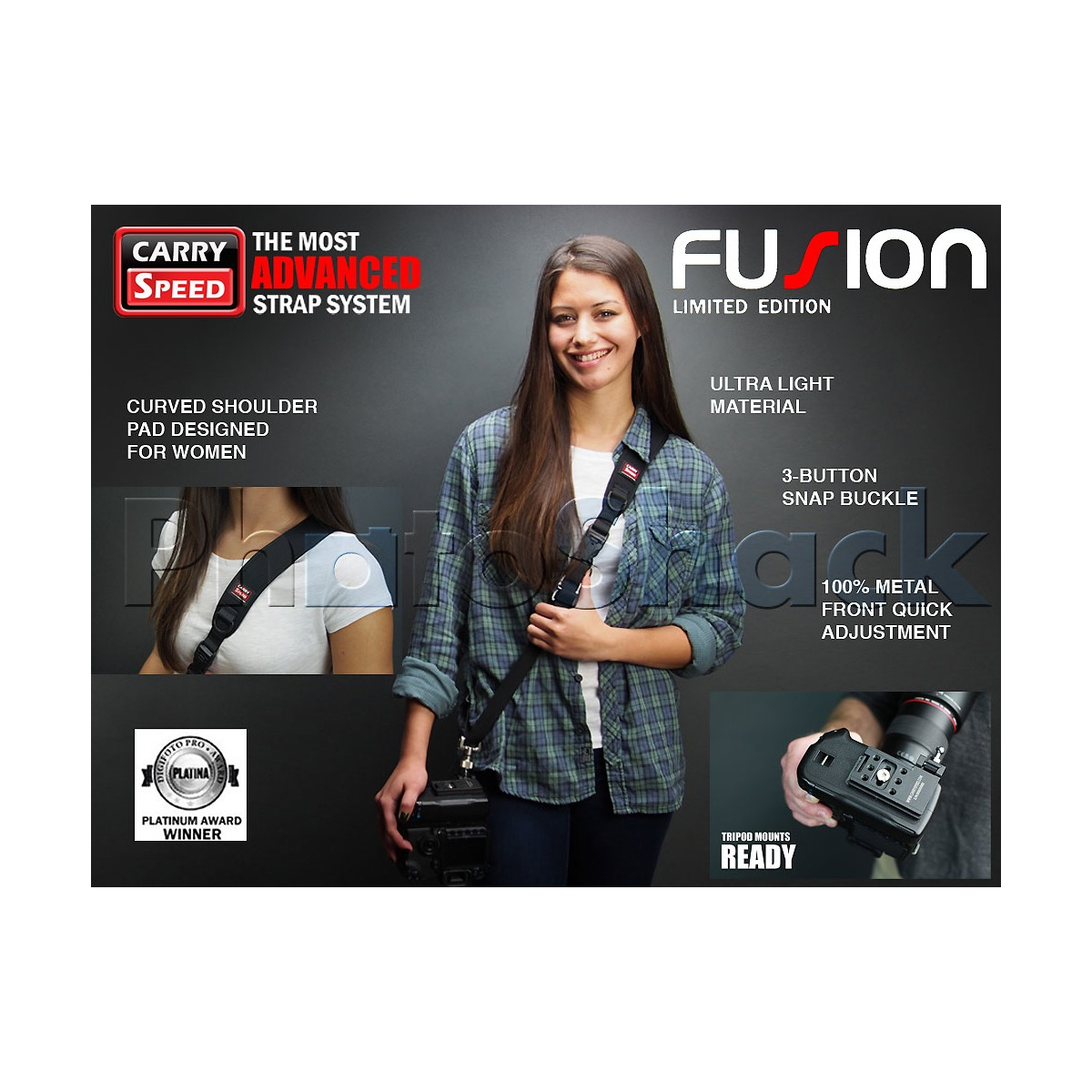 Carry Speed Fusion Camera Strap for Women (Limited Edition)