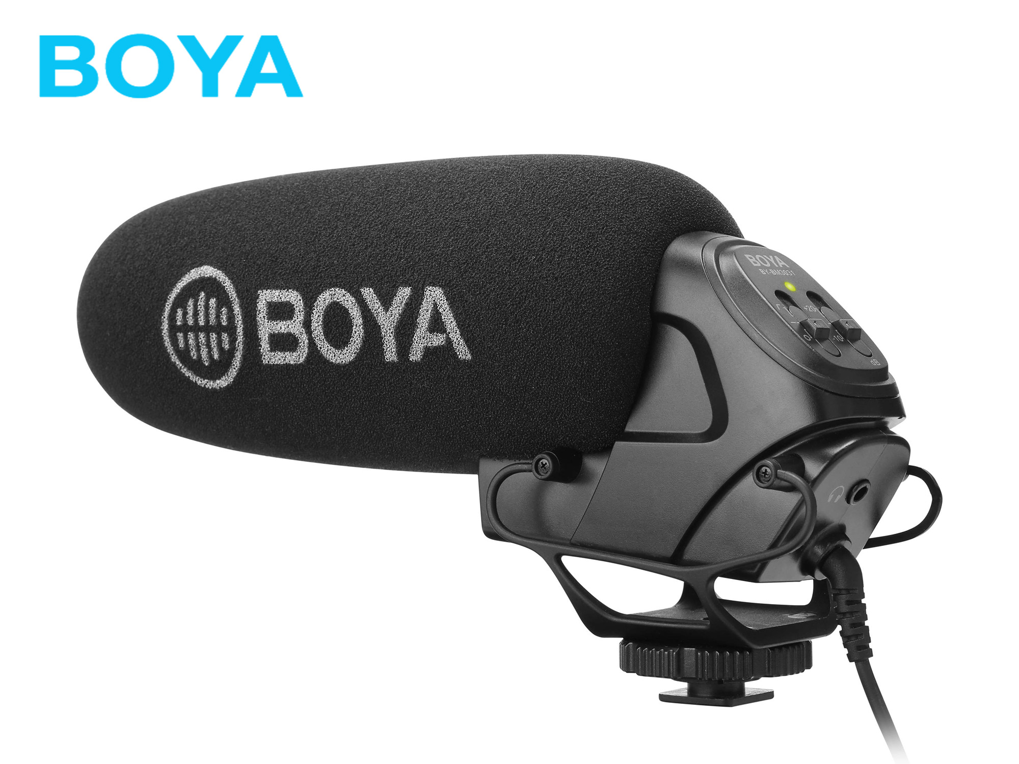 BOYA BY-BM3031 On-Camera Supercardioid Shotgun Microphone