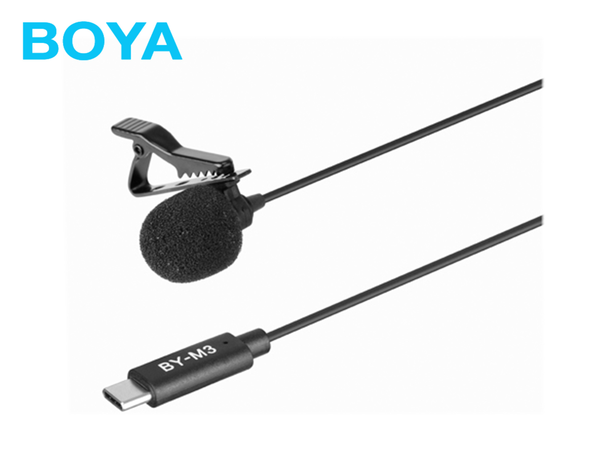 Boya BY-M3 Digital Dual-Lavalier microphone with Type-C(for Android devices)