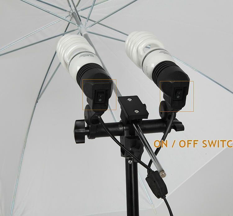 Continuous Cool Light Set (Equiv 3000W) with Collapsible Softboxes
