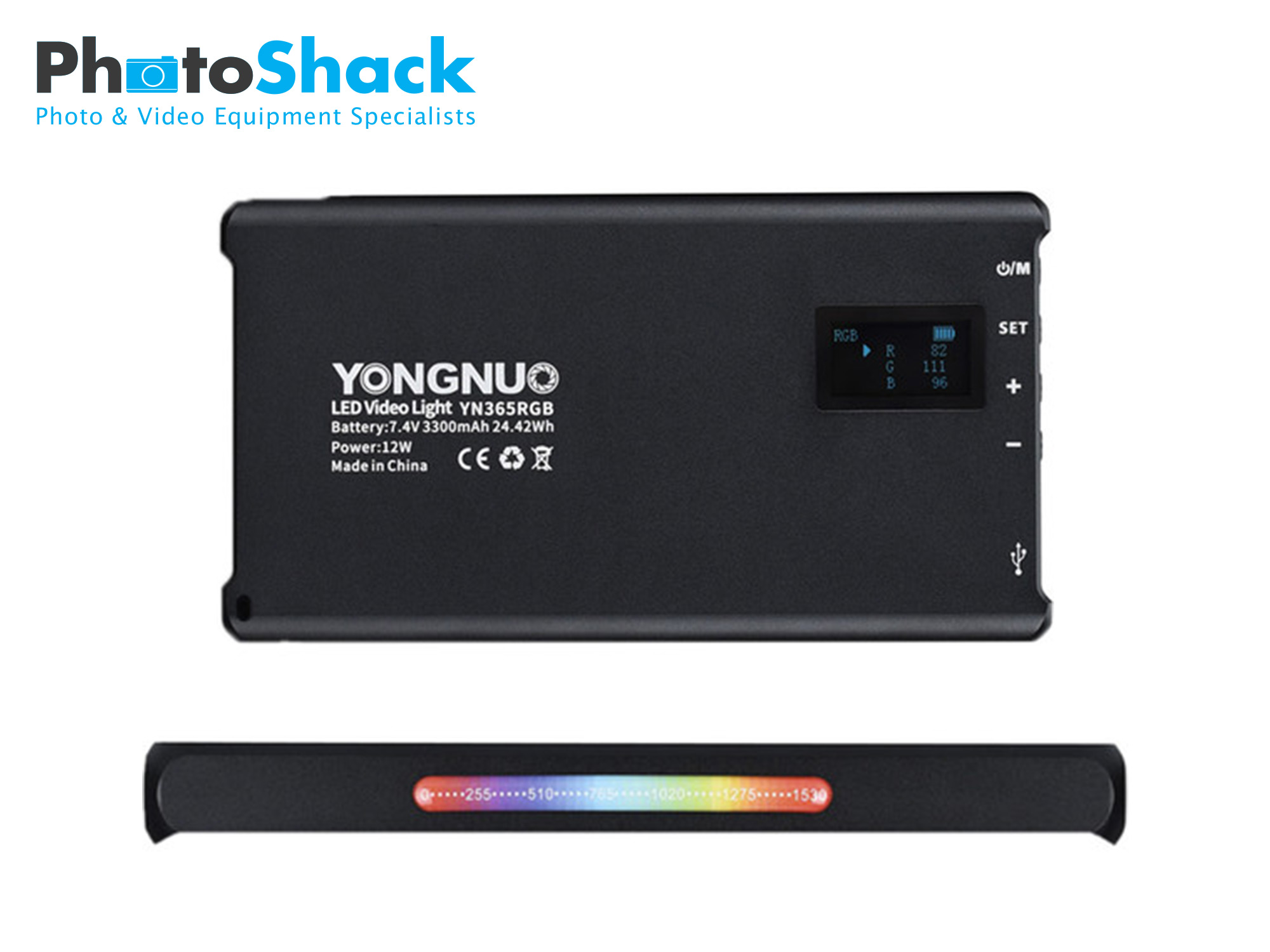 Yongnuo YN365 On-Camera RGB LED Light
