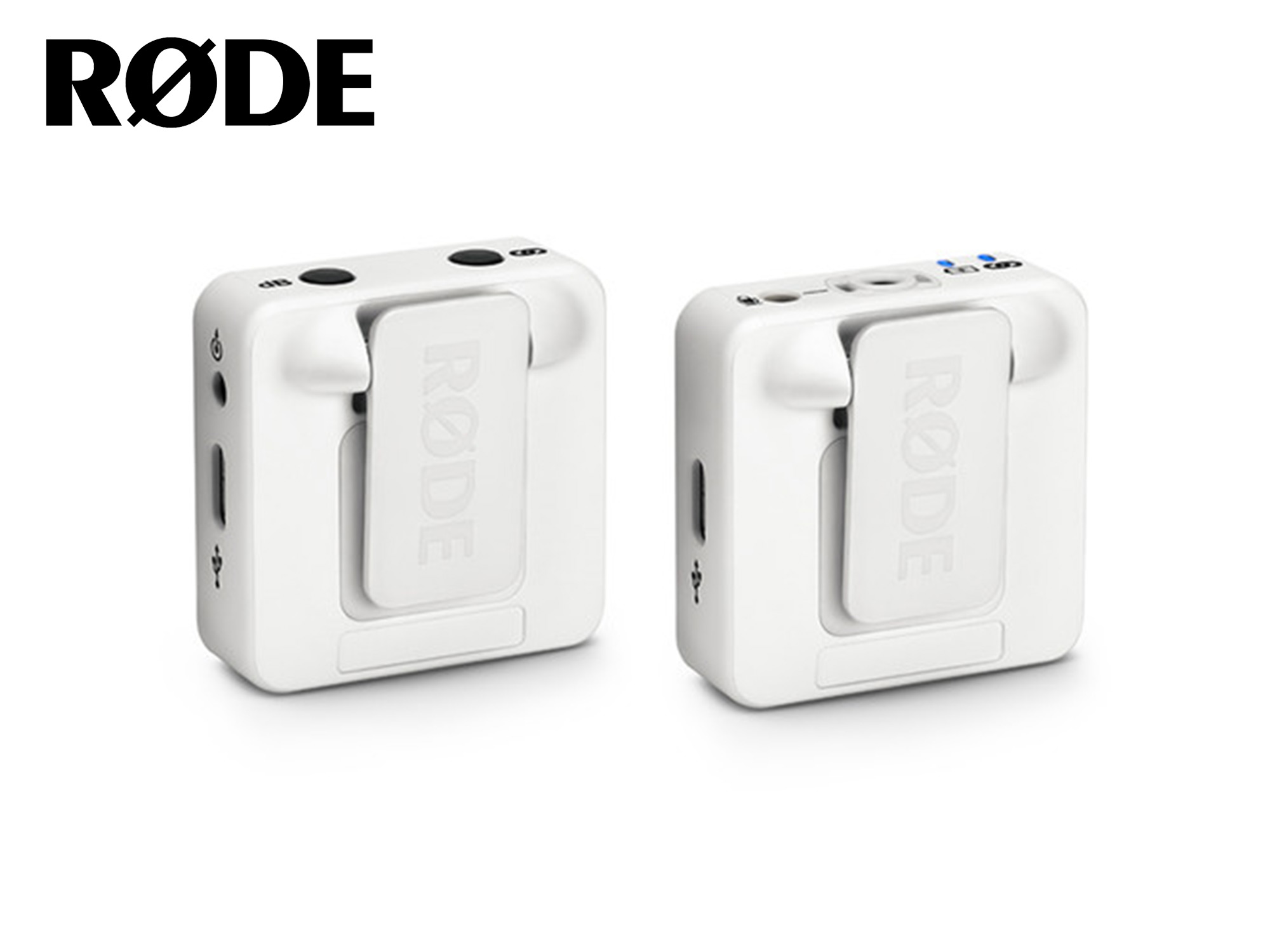 Rode Wireless GO Compact Wireless Microphone System (White)