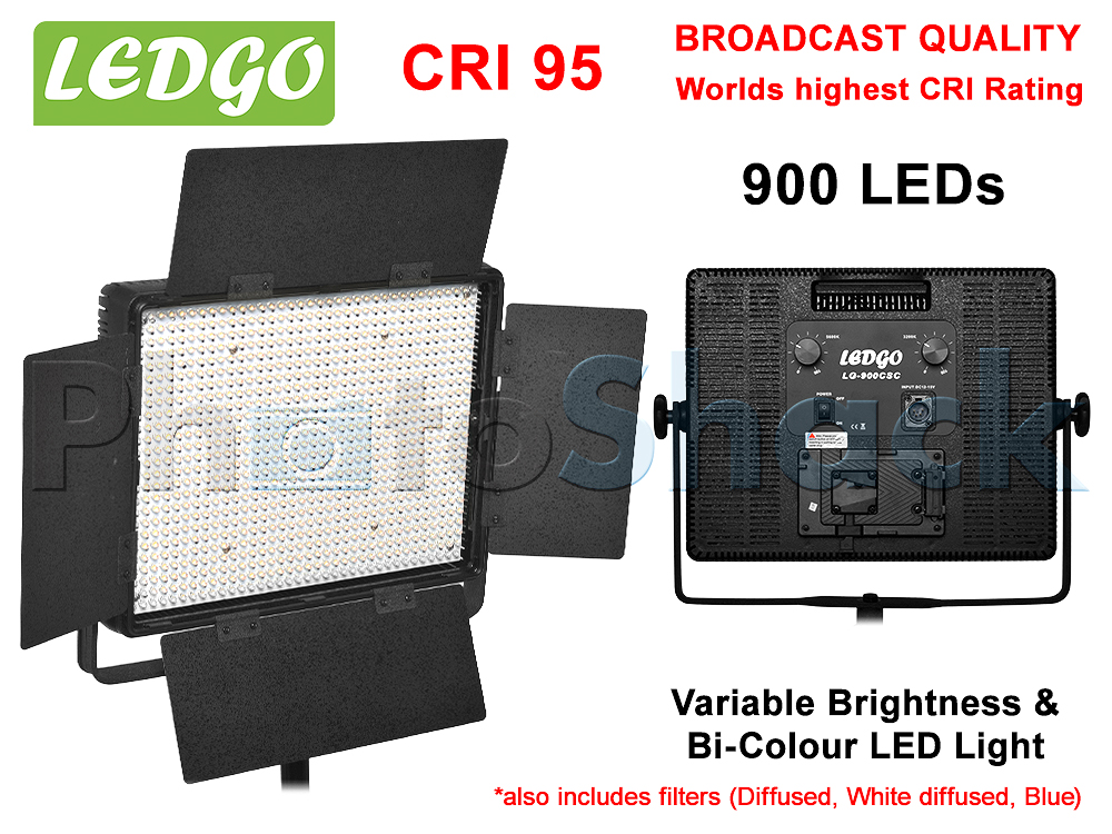 LEDGo 900 LED Studio Light - Bi-colour - 900CSC