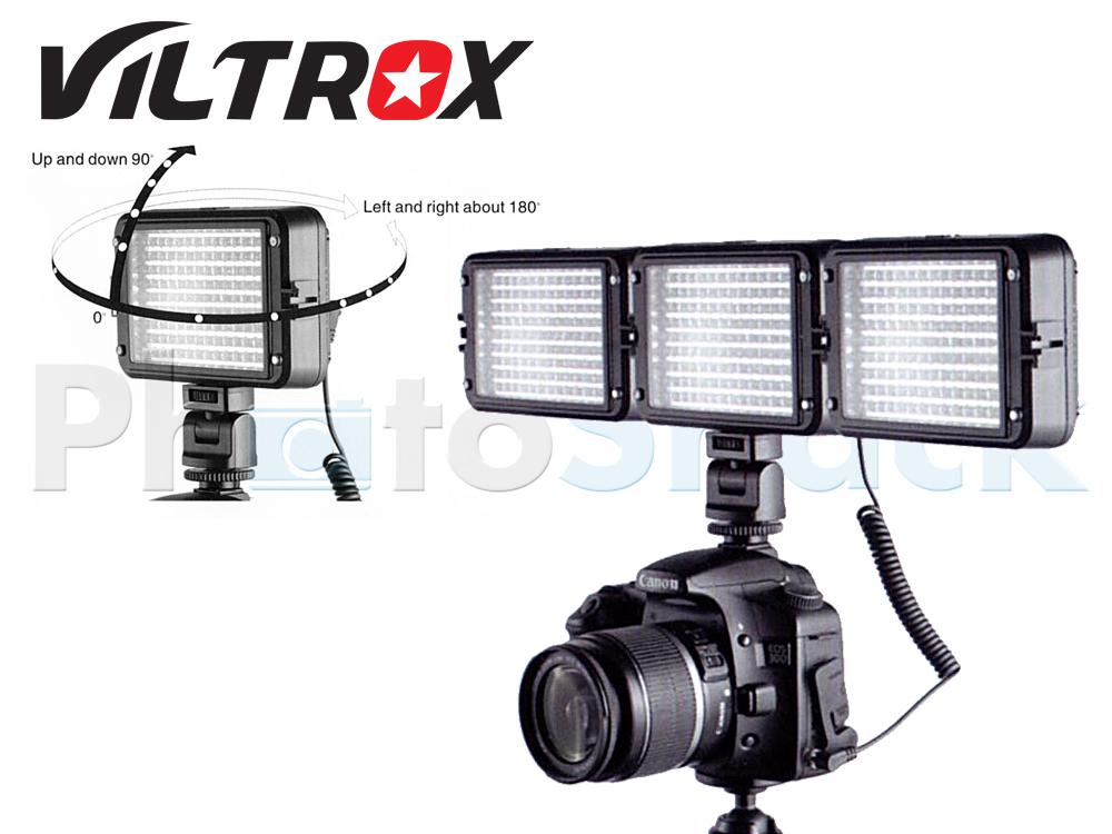 Viltrox 126 LED Video Light LL126VB   Photoshack   New