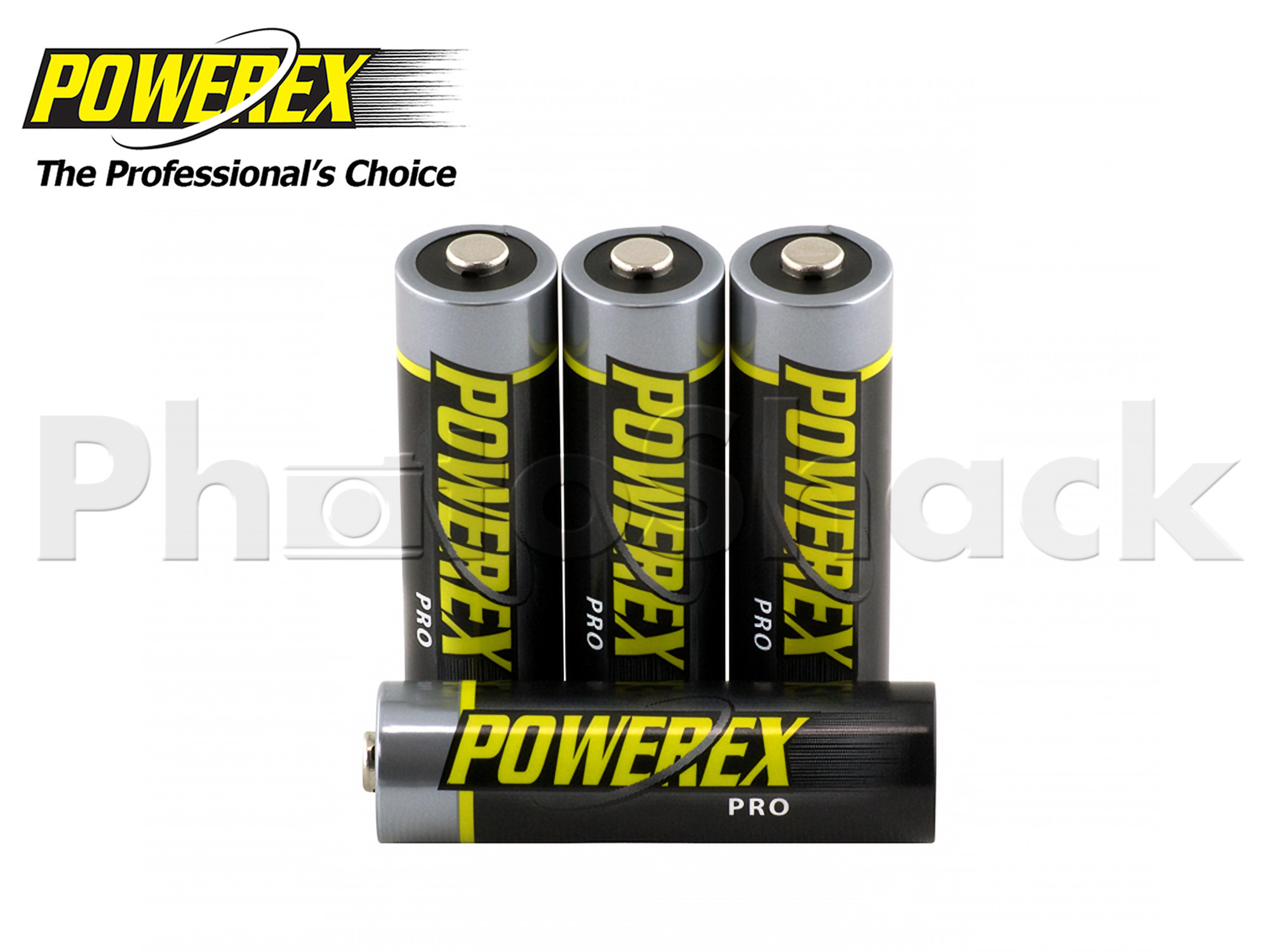 Maha Powerex PRO - AA Batteries - 2,700mAh 4pack