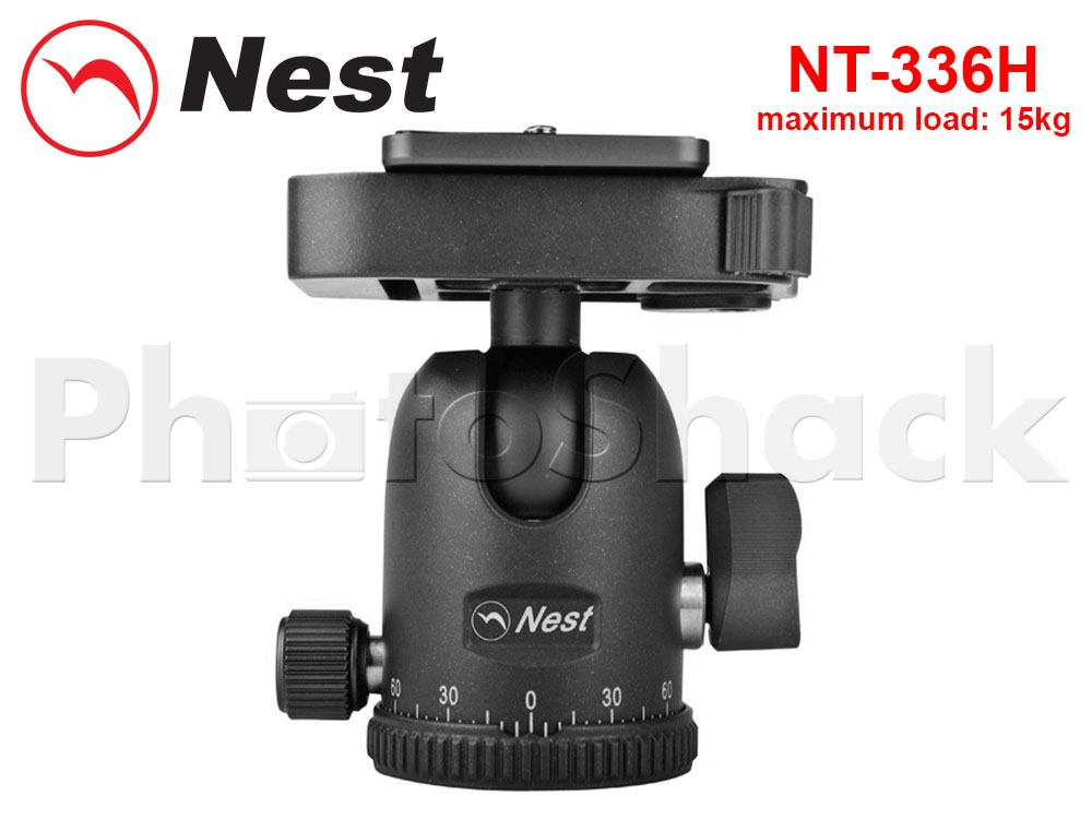 Nest Ball Head for Tripods - 15kg Load