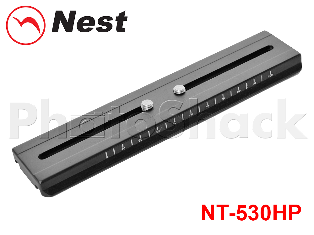 Tripod - Nest QR quick release plate for NT530H Gimbal Head