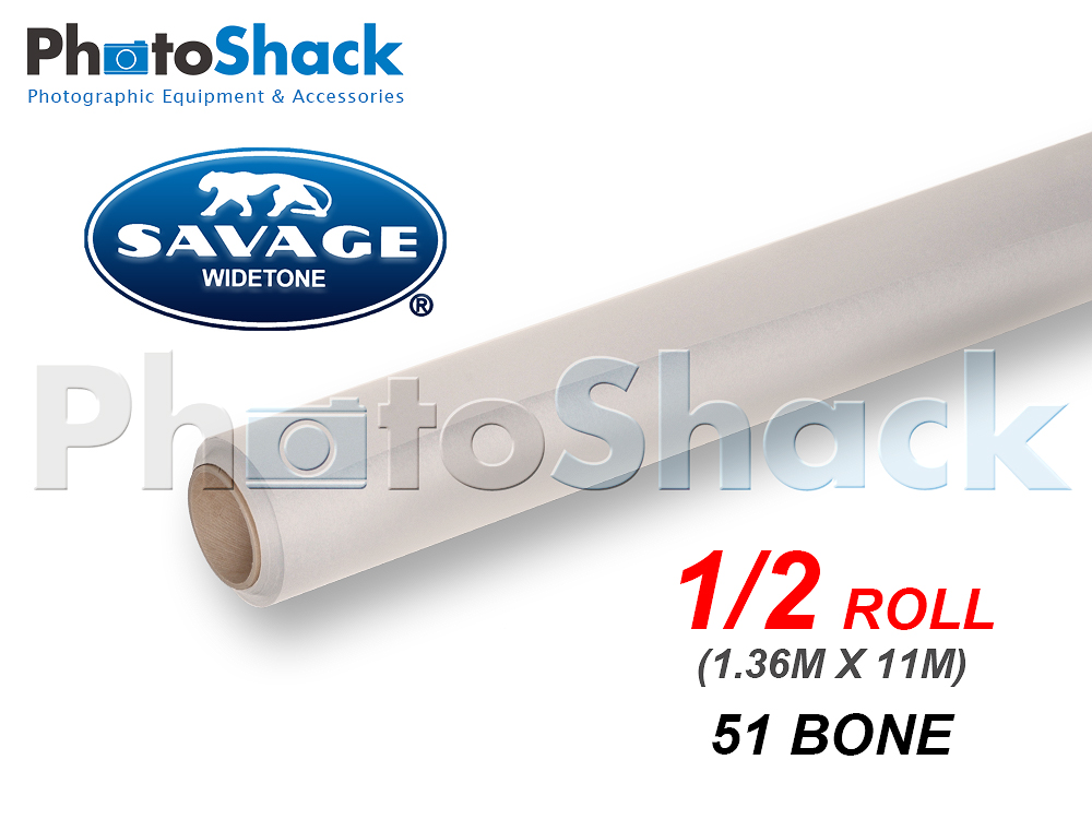 SAVAGE Paper Backdrop Half Roll - 51 Bone