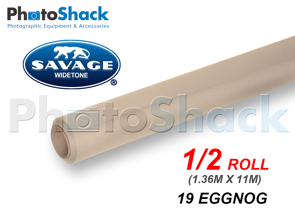 SAVAGE Paper Backdrop Half Roll - 19 Eggnog