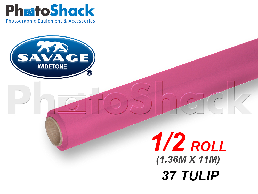 SAVAGE Paper Backdrop Half Roll - 37 Tulip