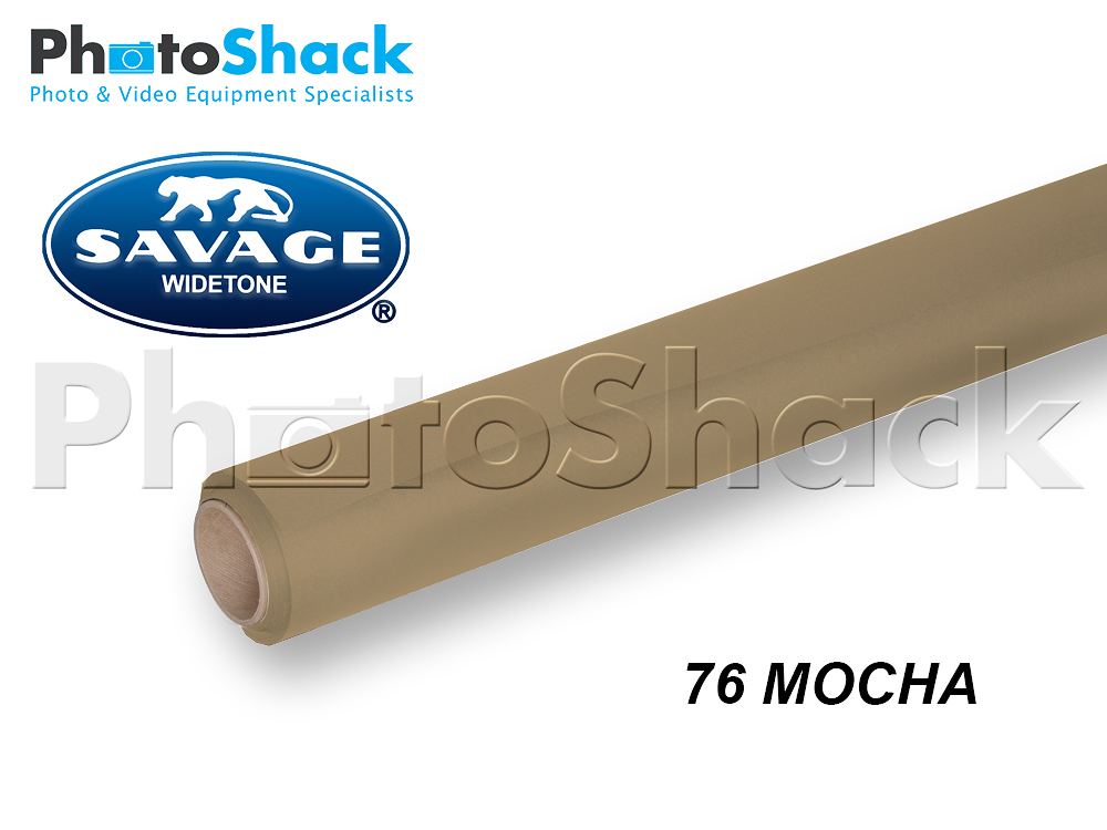 SAVAGE Paper Background Roll - 76 Mocha