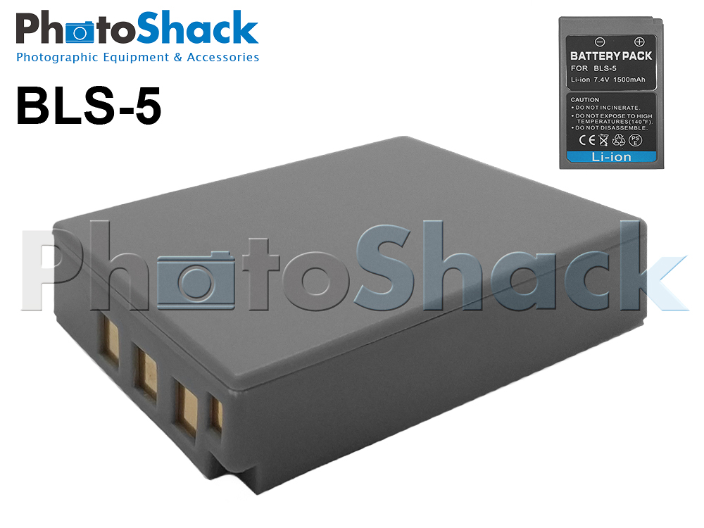 BLS5 Rechargeable Battery for Olympus