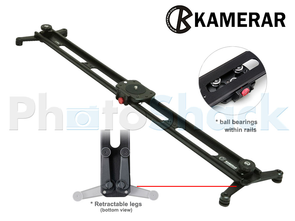 Foldable Video Slider - 100cm - The Big Slider