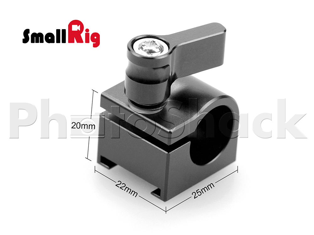 SmallRig Cold Shoe Rail Clamp (15mm) 1157