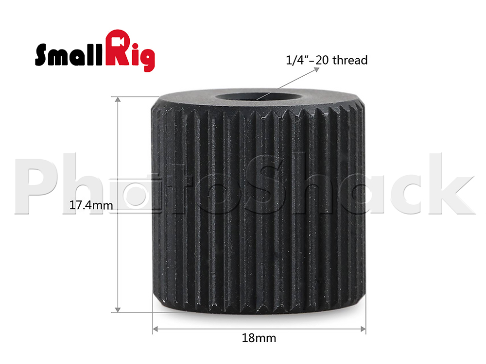 SmallRig Barrel Nut - 862 SMR862 | Photoshack | New Zealand