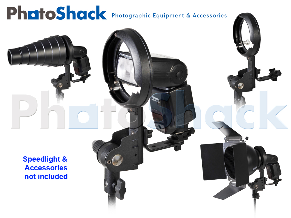 Speedlight Bowens Adapter Bracket