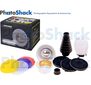 14 piece Speedlight Accessory Kit for Strobists