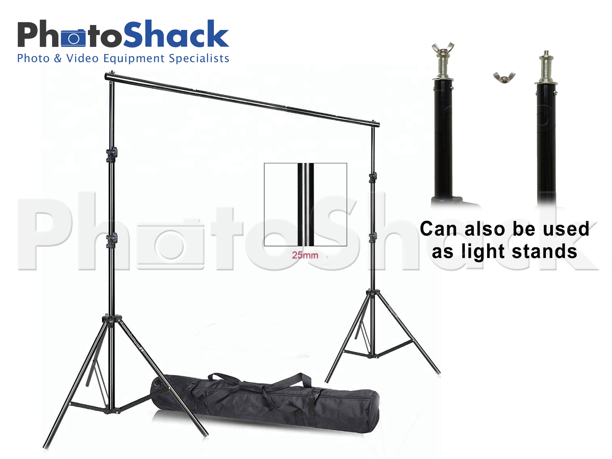 Background Backdrop Stand Support System - HEAVY DUTY