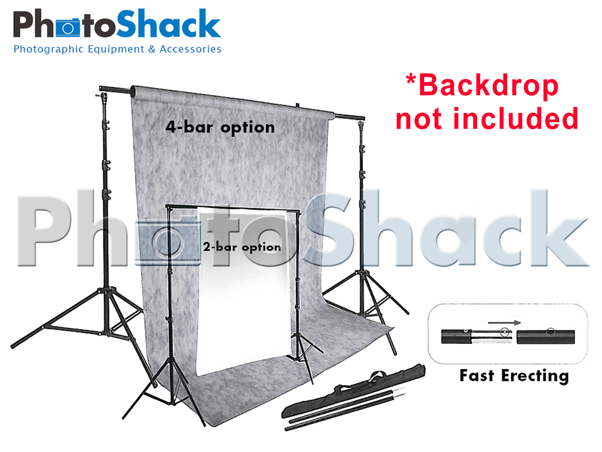 Background Backdrop Stand Support System