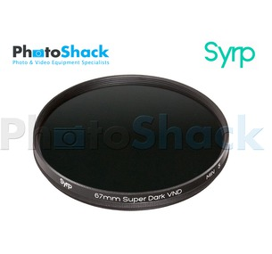 Syrp Variable ND filter Small - Super Dark - ND32-ND1024