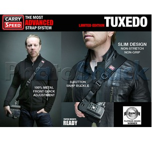 Carry Speed Camera Strap Tuxedo (Limited Edition)