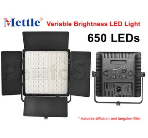 650 LED Studio Light - Daylight Mettle VL650