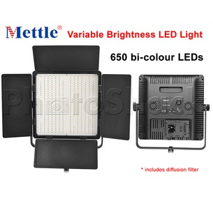 650 LED Studio Light - Bi-colour Mettle VL650D