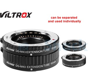 Viltrox Extension Tube Set (Auto) for MICRO 4/3 lenses